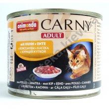 Animonda Adult Carny - консервы Анимонда с курицей и уткой