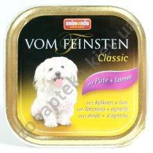 Animonda Vom Feinsten - консервы Анимонда с ягненком и индейкой для собак