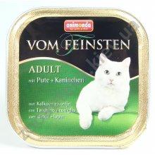 Animonda Adult Vom Feinsten - консервы Анимонда с индейкой и кроликом