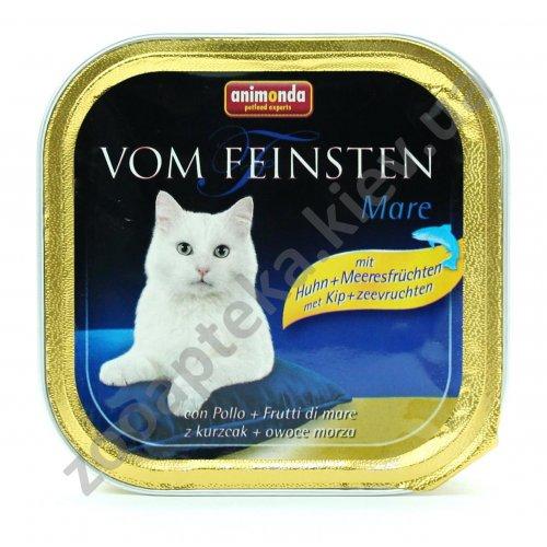 Animonda Vom Feinsten Mare - консервы Анимонда с лососем и креветками для кошек