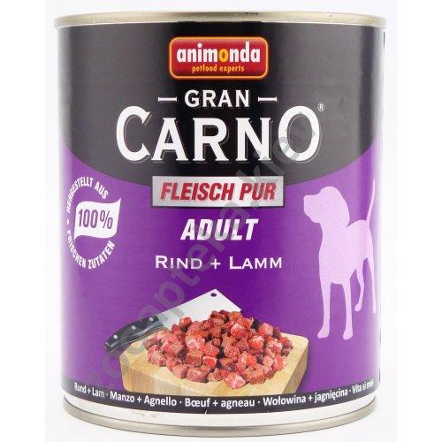 Animonda Adult Carno - консервы Анимонда с говядиной и ягнятиной