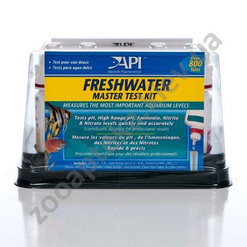 API Freshwater Master Test Kit - набор тестов АПИ для измерения показателей воды