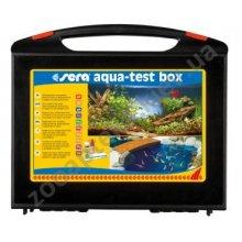 Sera Aqua-Test Box - тест Сера для быстрого и надежного контроля за аквариумной водой