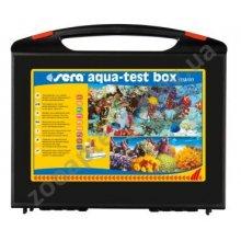Sera Aqua-Test Box Marin - тест Сера для контроля воды в морском аквариуме