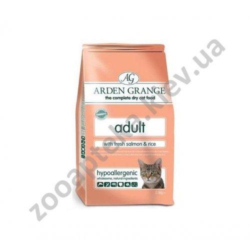 Arden Grange Adult Cat Salmon & Rice - корм Арден Грендж с лососем и рисом для кошек