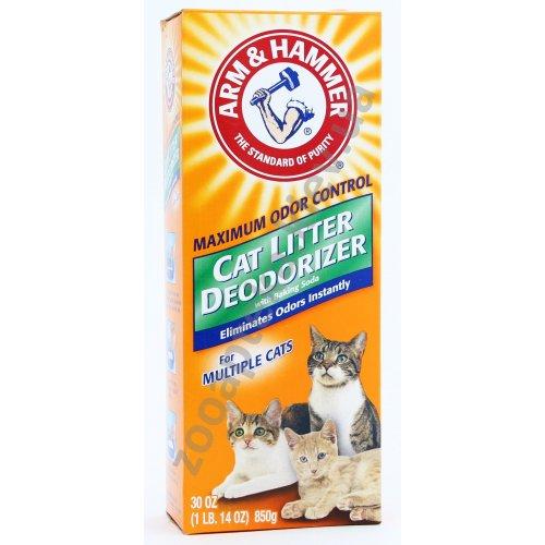 Arm & Hammer Cat Litter Deodorizer Powder - дезодорант Арм и Хаммер для кошачьего туалета