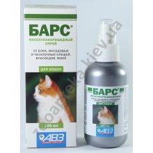 Инсектоакарицидный спрей АВЗ Барс для кошек