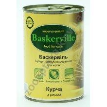 Baskerville - консервы Баскервиль для кошек, цыпленком и рисом
