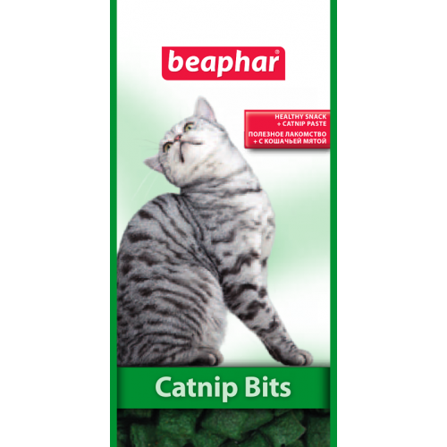 Beaphar Catnip-Bits - лакомство для кошек Бифар с кошачьей мятой