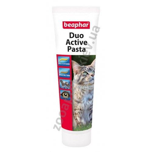 Beaphar Duo-Active Paste For Cats - мультивитаминная паста Бифар двойного действия для кошек