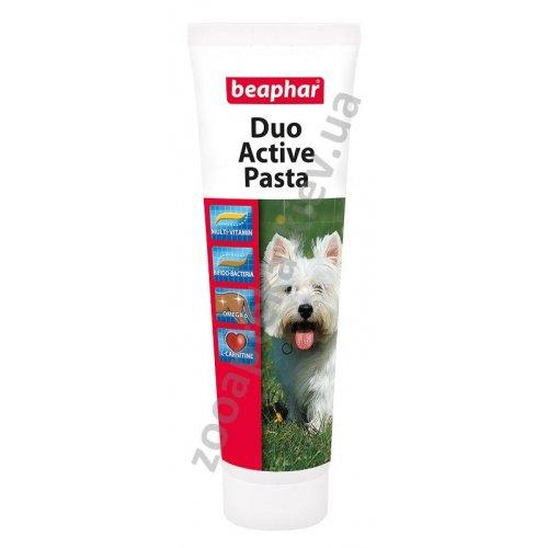 Beaphar Duo-Active Paste For Dogs - мультивитаминная паста двойного действия Бифар для собак