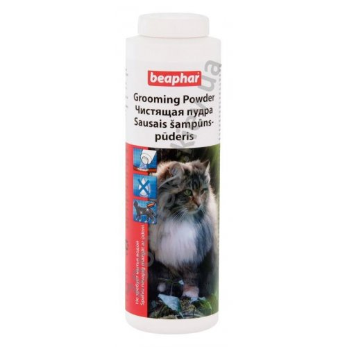 Beaphar Bea GroomIng Powder For Cats - чистящая пудра Бифар для кошек