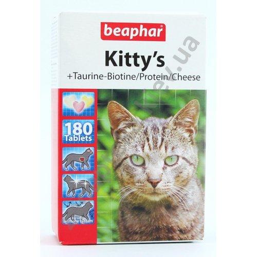 Beaphar Kitty`s Mix - комплекс витаминов Бифар для кошек