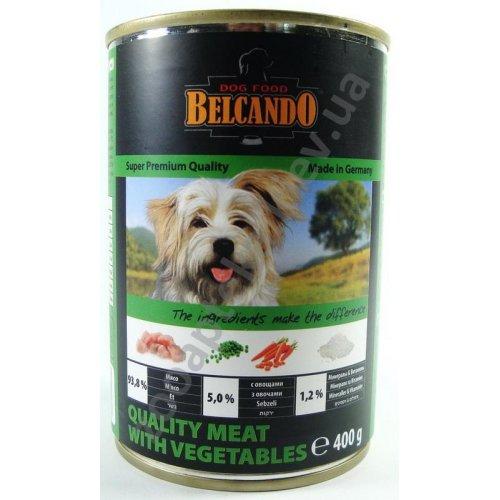 Belcando - консервы Белькандо Отборное мясо с овощами