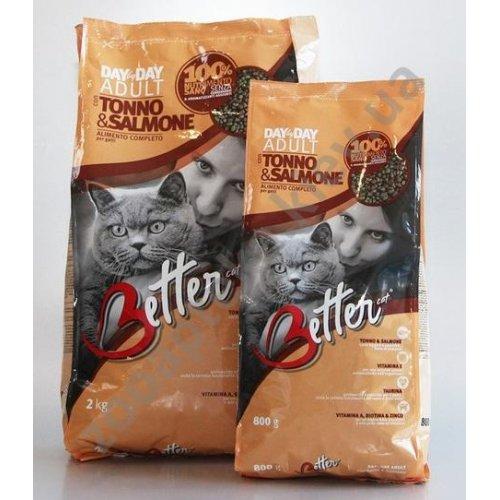 Better Adult - корм Беттер для кошек, с тунцом и лососем