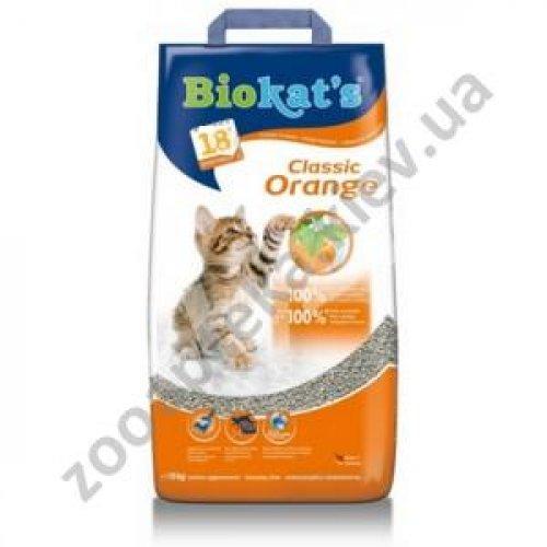 Gimpet Biokats Classic Orange - наполнитель Гимпет Биокетс c ароматом апельсина