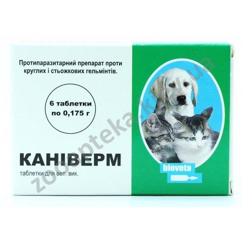 Bioveta Caniverm - таблетки от глистов Каниверм