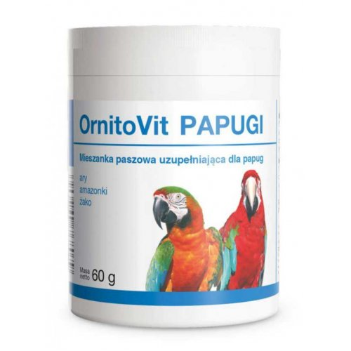 Dolfos OrnitoVit - добавка Долфос ОрнитоВит для крупных попугаев