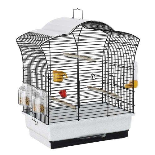Ferplast Gaia San - клетка Ферпласт для небольших птиц с защитной панелью от солнца
