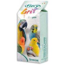Fiory - морской песок Фиори лимонный для птиц