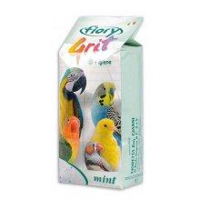 Fiory - морской песок Фиори ментоловый для птиц