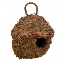 Trixie - гнездо Трикси из травы для экзотических птиц