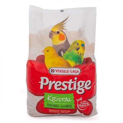 Versele-Laga Prestige Kristal - песок Версель-Лага из морских раковин для птиц
