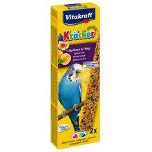 Vitakraft - крекер Витакрафт с абрикосом и инжиром для волнистых попугаев