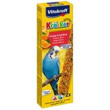 Vitakraft - крекер Витакрафт с апельсином и абрикосом для волнистых попугаев