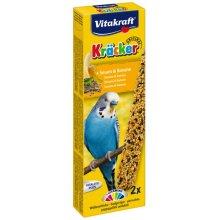 Vitakraft - крекер Витакрафт с кунжутом и бананом для волнистых попугаев