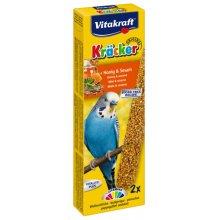 Vitakraft - крекер Витакрафт с медом и кунжутом для волнистых попугаев