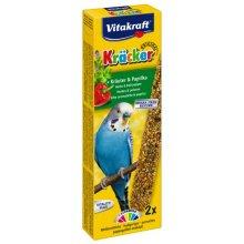 Vitakraft - крекер Витакрафт с травами и паприкой для волнистых попугаев