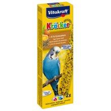 Vitakraft - крекер Витакрафт с яйцом и семенами трав для волнистых попугаев