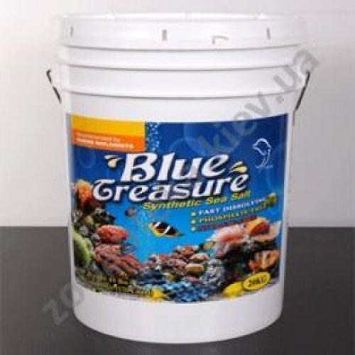 Blue Treasure Reef Sea Salt - соль для крупнополипных кораллов LPS