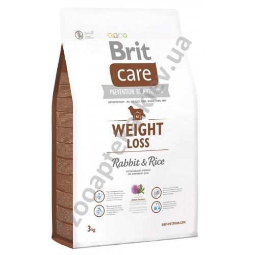Brit Care Weight Loss - корм Брит для собак с избыточным весом