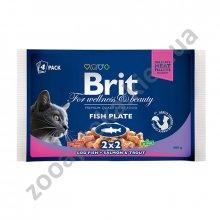 Brit Premium - корм Брит Ассорти Рыбная тарелка