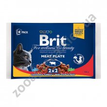 Brit Premium - корм Брит Ассорти Мясная тарелка