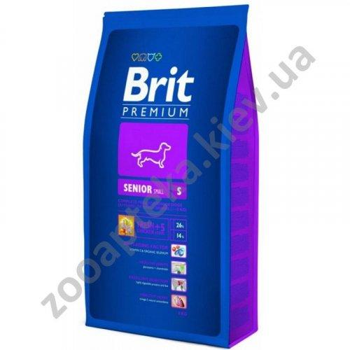 Brit Premium Senior Small Breed - корм Брит для пожилых собак мелких пород