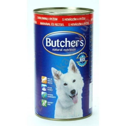 Butchers Dog Beef and Rice - консервы Батчерс с говядиной и рисом для собак