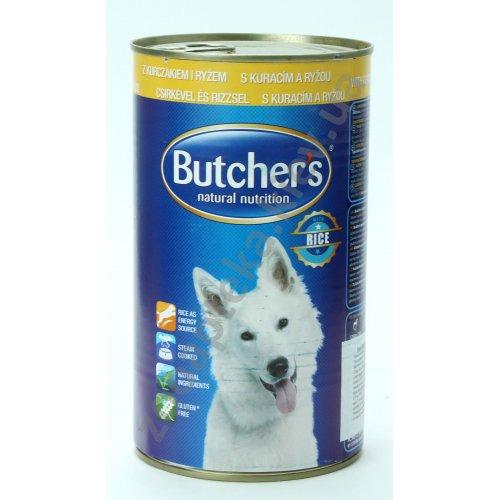 Butchers Dog Chicken and Rice - консервы Батчерс с курицей и рисом для собак