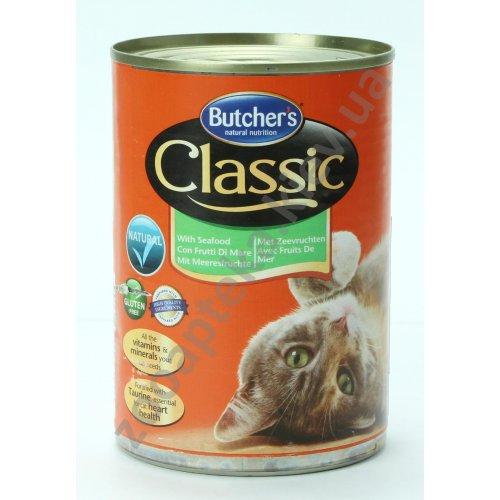 Butchers Classic Seafood - консервы Батчерс с морепродуктами