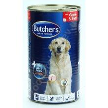 Butchers Plus Game and Beef - консервы Батчерс с дичью и говядиной
