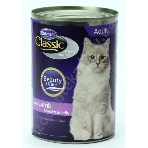 Butchers Cat Classic Pro Lamb in Jelly - консервы Батчерс ягненок в желе для кошек