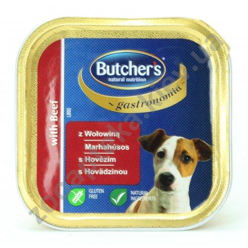 Butchers Dog Gastronomia Beef - паштет Батчерс с говядиной для собак