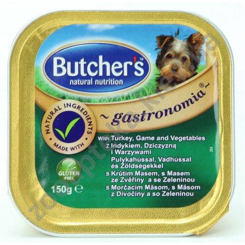 Butchers Dog Gastronomia Tutrkey, Game, Vegetables - паштет Батчерс с индейкой, дичью и овощами