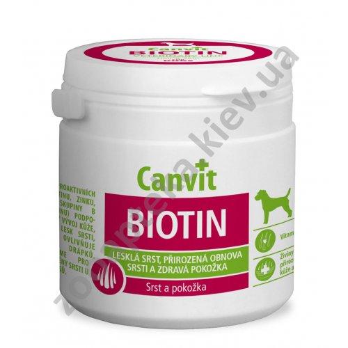 Canvit Biotin Dog - витамины Канвит для здоровой шерсти и кожи