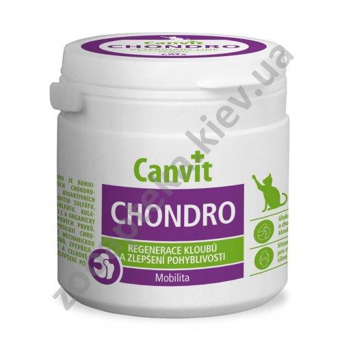 Canvit Chondro - витамины Канвит для поддержки суставов кошек