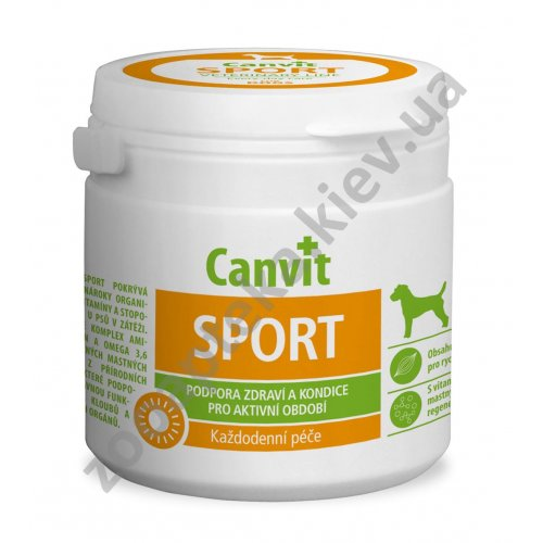 Canvit Sport - витамины Канвит для активных собак