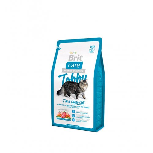 Brit Care Tobby Large Cat - корм Брит для кошек крупных пород