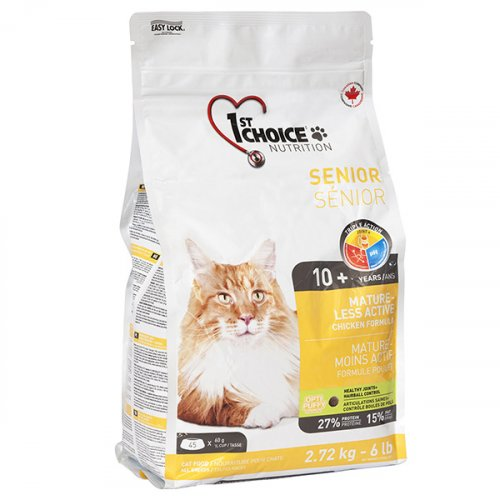 1-st Choice - корм Фест Чойс Сеньор для пожилых или склонных к полноте кошек